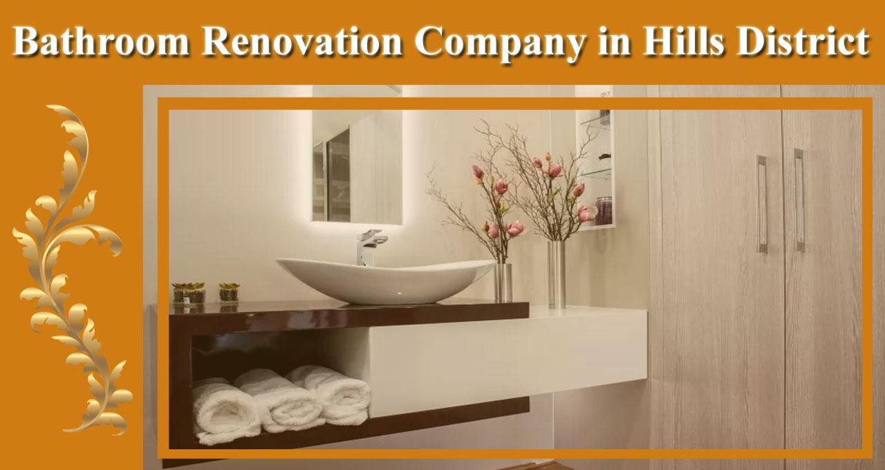 Bathroom Renovation Hills District